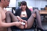 Sakuragi Yukine has her vagina screwed goodhuge tits, big boobs, big asian boobs