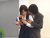 Sexy office hardcore with tight Nanami Kawakami