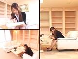 Ai Sayama Japanese office lady gets hot tit fuck
