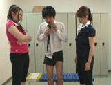 Sexy Chisato Shohda dominating in threesome MFF picture 14