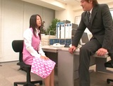 Ravishing hardcore bang for cock sucking office lady