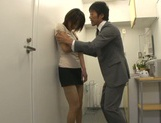 Office beauty receives great fucking at work picture 12
