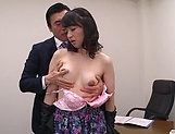 Sexy Asian office lady nailed in amazing ways picture 11