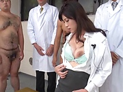 Yurikawa Sara sucks cock before a wild fuck