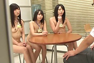 Spicy foursome action with three hot babesboobs tits, hot tits, japanese tits