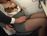 Kiriyama Anna enjoys some intense office sex picture 11