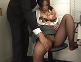 Kiriyama Anna enjoys some intense office sex picture 12