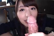 Stunning office babe, Sakuragi Yukine gives a steaming POV blowjobbig tits sex, big tits boobs
