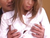 Sexy Misa ready to suck boss huge cock picture 13