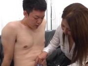 Superb office sex involving hot japanese babe