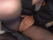 Elegant Japanese office lady Takako Kitahara enjoys hardcore copulation