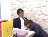 Cock starved Japanese office lady tempts her colleague and enjoys sex
