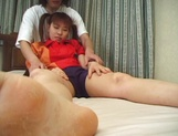 Kinky teen Hikaru Hinata with fancy pigtails gets licked and pounded