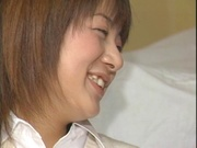 Alluring Japanese schoolgirl is amazing when she fucks