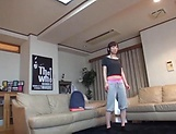 Serious POV amateur video with a slim Asian beauty picture 11