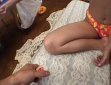 Curvaceous Mai Hagiwara banged and cummed on