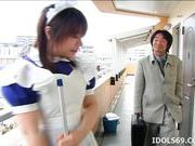 Riko Morihara Is Getting A Good Fucking On Camera