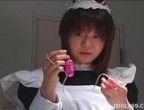 Riko Morihara Playing Maid And Getting A Good Fucking