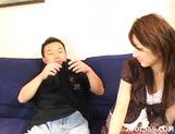 Rina Himekawa Av Idol Threesome Sex Asian babe Likes Playing Games picture 12