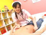 Rio Nakamura Cute Av Idol Tokyo Nurse Internal Cumshot picture 13