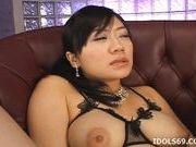 Saya Misaki Asian Beauty Shows Off Her Big Tits
