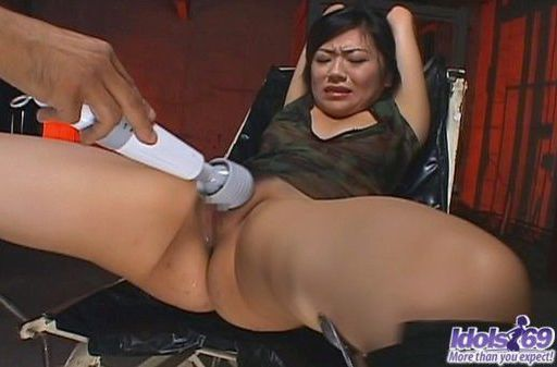 Saya Misaki Beautiful Asian Model Enjoys Her Vibrating Buddy