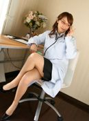 Sayumi Naughty babe Nurse Plays Doctor In The Office
