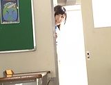 Beautiful teen Harukawa Sesera gets a creamy facial