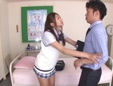 Curious Japanese college teen Sarii Aisahara experiences cock riding picture 4