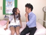 Curious Japanese college teen Sarii Aisahara experiences cock riding