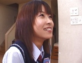 Schoolgirl Aika Hoshizak fucked by teacher for better grades