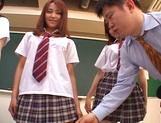 Horny Matsuno banged hard in gang bang