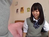 Cute Tokyo schoolgirl has the time of her life picture 7