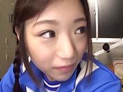 Cute Asian model enjoys having slow fuck