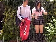 Asian schoolgirl gets her vagina screwed