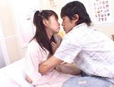 Sweet Japanese schoolgirl enjoys sex in various scenes picture 13
