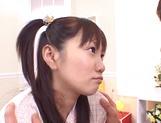 Sweet Japanese schoolgirl enjoys sex in various scenes