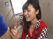 Harukawa Sesera loves handling huge hard cocks