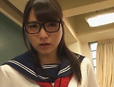 Seductive schoolgirl banged by horny teacher picture 12