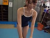 Sexy Hasegawa Rui young schoolgirl gets banged