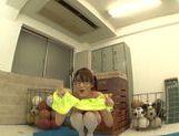 Naughty Mikuni Maysaki enjoys impressive solo picture 15