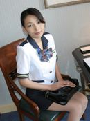 Shiho babety Asian Stewardess Takes It All Off In Her Spare Time