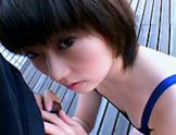 Shinohu Asian model Enjoys Giving Her Dates Amazing Blow Jobshot asian girls, asian women}