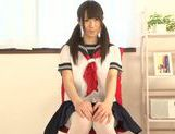 Young Agasa Itou enjoys naughty solo masturbation picture 12