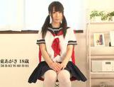 Young Agasa Itou enjoys naughty solo masturbation