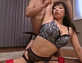 Busty Sankihon Nozomi wants cock inside her wet fanny picture 10