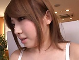 Cute Tomoe Nakamura gets penetrated deep picture 9