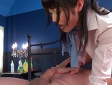 Delicious Konishi Marie pleasing hard dick