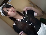 Houtsuki Haruna likes it the doggystyle fashion