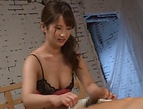 Osaki Mio gets her juicy holes nailed superbly picture 15